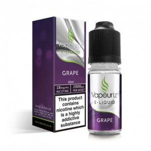 Vapouriz - Grape E Liquid 10ml Refill Bottle