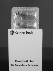 KangerTech Replacement Dual Coil 1.0 ohm