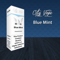 City Vape - Blue Mint E-Liquid 10ml (80VG/20PG)