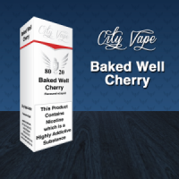 City Vape - Baked Well Cherry E-Liquid 10ml (80VG/20PG)