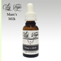 City Vape - Mam's Milk  Dripper Liquid 30ml (80VG/20PG)