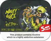 Nasty Juice - Fat Boy - 50ml (5 x 10ml)