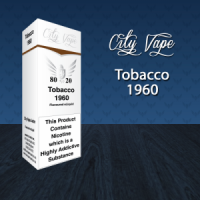 City Vape - Tobacco 1960 E-Liquid 10ml (80VG/20PG)