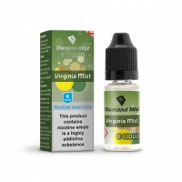 Diamond Mist Virginia Mist Tobacco Flavour E-Liquid Refill Bottle 10ml