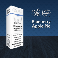 City Vape - Blueberry Apple Pie E-Liquid 10ml (80VG/20PG)