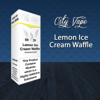 City Vape - Lemon Ice Cream Waffle E-Liquid 10ml (80VG/20PG)