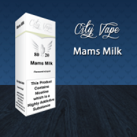City Vape - Mam's Milk  E- Liquid 10ml (80VG/20PG)