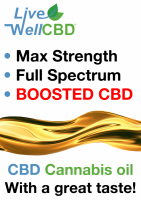 Live Well CBD Max Full Spectrum CBD, 600mg 1000mg 2000mg 4000mg 6000mg