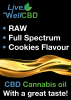 Live Well CBD Raw Full Spectrum CBD, 500mg, 1000mg, 2000mg, 3000mg, 5000mg Oral