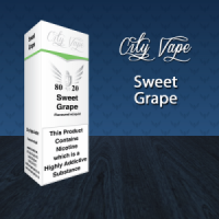 City Vape - Sweet Grape E-Liquid 10ml (80VG/20PG)