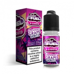 Vapouriz Pocket Fuel - Blackberry Grape Spritz Sub-Ohm E-Liquid 10ml