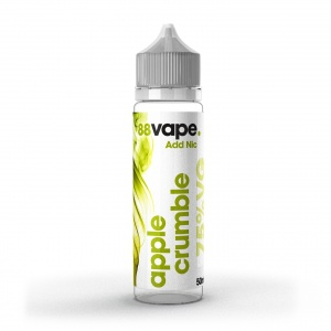 88 Vape - Apple Crumble  - E-liquid 50ml 0MG