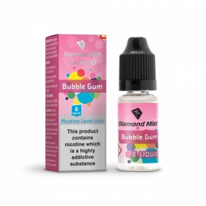 Diamond Mist - Bubblegum Flavour E-Liquid Refill Bottle 10ml