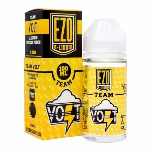 EZO Team Volt E-Liquid (With Trick Box) 120ml Bottle - 0mg