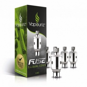 Vapouriz FUSE Dual Coil Replacement Coils (spare heads) Pack of 5