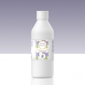 75% Alcohol Hand Sanitiser Lavender and Tea Tree 1000ml (1 Litre) Refill Bottle