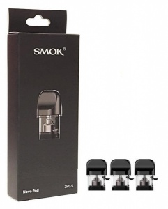 SMOK NOVO Replacement Pods. 1.2 ohm x 3