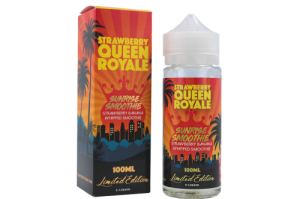 Strawberry Queen Royale - Sunrise Smoothie 100ml - 0mg
