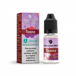Diamond Mist 'Toonz' Flavour High VG Liquid 3mg