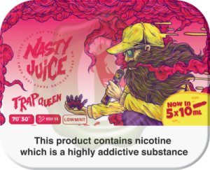 Nasty Juice join's our premium liquid lineup