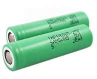 2 x Diamond Mist 18650 Replacement Battery