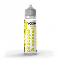 88 Vape - Pineapple & Coconut  - E-liquid 50ml 0MG