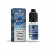 Diamond Mist - Blueberry Flavour E-Liquid Refill Bottle 10m