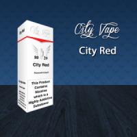 City Vape - City Red E-Liquid 10ml (80VG/20PG)