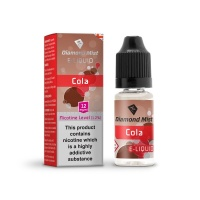 Diamond Mist - Cola Flavour E-Liquid Refill Bottle 10ml