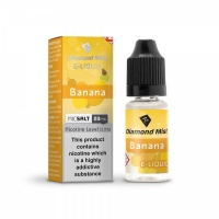 Diamond Mist Nic SALT Banana Flavour E-Liquid 10ml - 10mg & 20mg