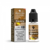 Diamond Mist Nic SALT 'Havana Tobacco' Flavour E-Liquid 10ml - 10mg & 20mg