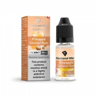 Diamond Mist Nic SALT 'Pineapple Coconut Rum' Flavour E-Liquid 10ml - 10mg & 20mg