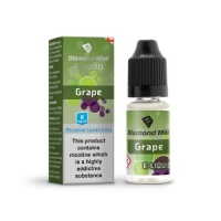 Diamond Mist - Grape Flavour E-Liquid Refill Bottle 10ml