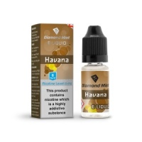 Diamond Mist - Havana Tobacco Flavour E-Liquid Refill Bottle 10m