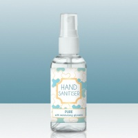 75% Alcohol Hand Sanitiser Pure 50ml Bottle