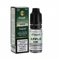 i Fresh - Apple Sensation Flavour E-Liquid Bottle 10ml