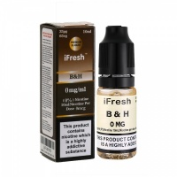 i Fresh - BH Tobacco Flavour E-Liquid Bottle 10ml