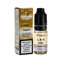 i Fresh - LB Tobacco Flavour E-Liquid Bottle 10ml