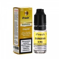 i Fresh - Banana Flavour E-Liquid Bottle 10ml