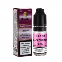 i Fresh - Black Currant Flavour E-Liquid Bottle 10ml