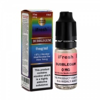 i Fresh - Bubble Gum Flavour E-Liquid Bottle 10ml