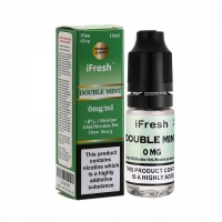 i Fresh - Double Mint  Flavour E-Liquid Bottle 10ml