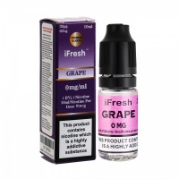 i Fresh - Grape Flavour E-Liquid Bottle 10ml