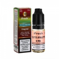 i Fresh - Tutti Frutti Flavour E-Liquid Bottle 10ml