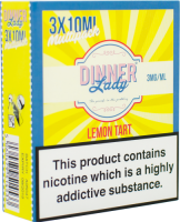 Dinner Lady  - Lemon Tart  E-liquid 30ml  (3 x 10ml)