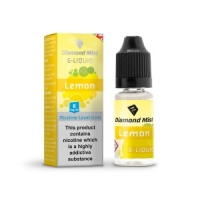 Diamond Mist - Lemon Flavour E-Liquid Refill Bottle 10ml