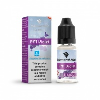 Diamond Mist - PM Violet Flavour E-Liquid Refill Bottle 10ml