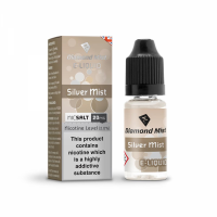 Diamond Mist Nic SALT 'Silver Mist Tobacco' Flavour E-Liquid 10ml - 10mg & 20mg