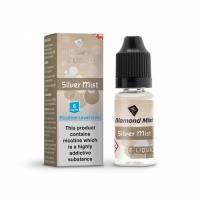 Diamond Mist - Silver Mist Tobacco Flavour E-Liquid Refill Bottle 10ml