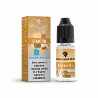 Diamond Mist - Vanilla Flavour E-Liquid Refill Bottle 10ml